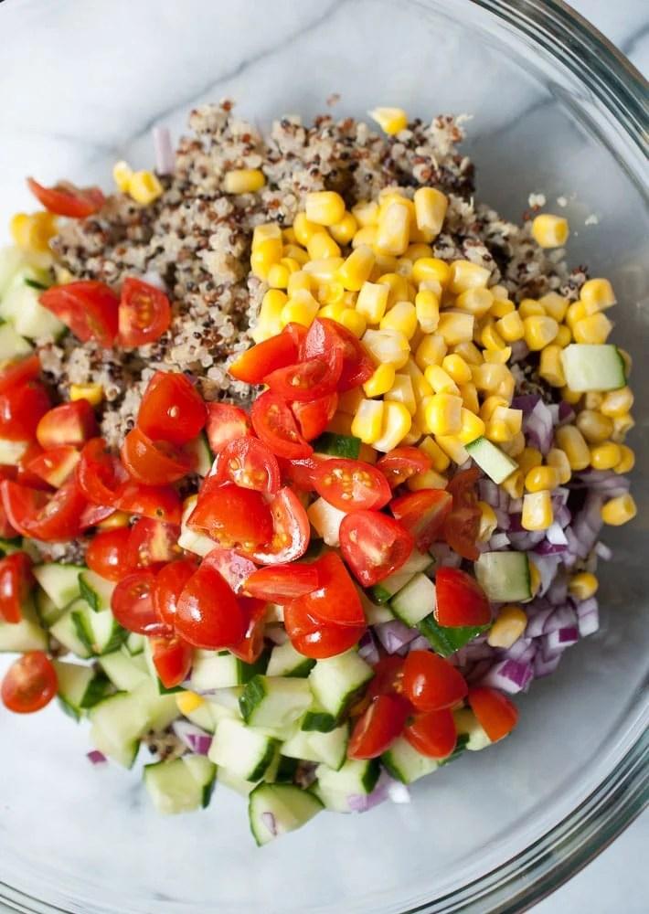 Simple Quinoa Salad-4