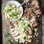 Herb Grilled Chicken w/ Fresh Corn Salsa