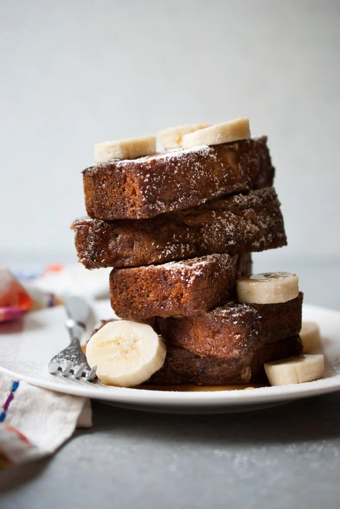 Zucchini Banana Bread French Toast