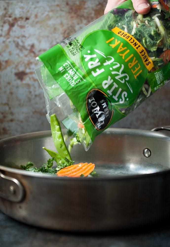 Chicken & Veggie Teriyaki Stir Fry