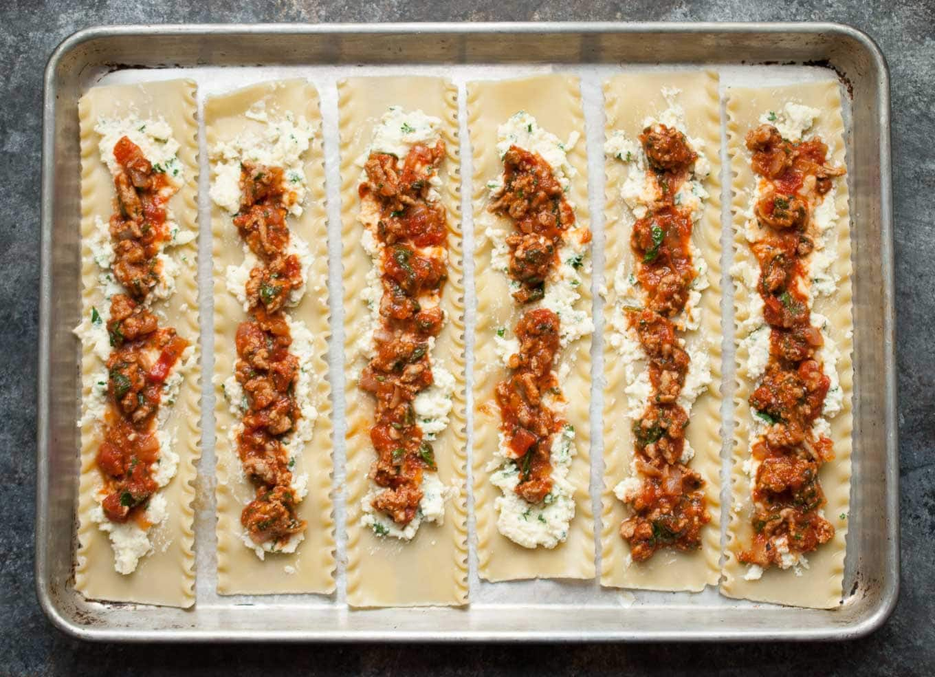 Turkey Spinach Lasagna Roll Ups – life is but a dish