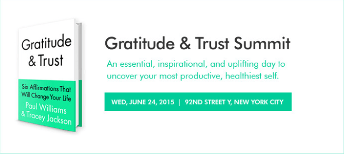Do you want to go to the Gratitude and Trust Summit in NYC? #GratitudeTrust140