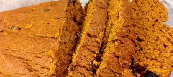 My favourite #glutenfree pumpkin loaf