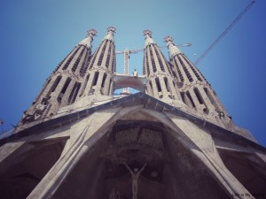 Life is My Oyster - La Sagrada Familia