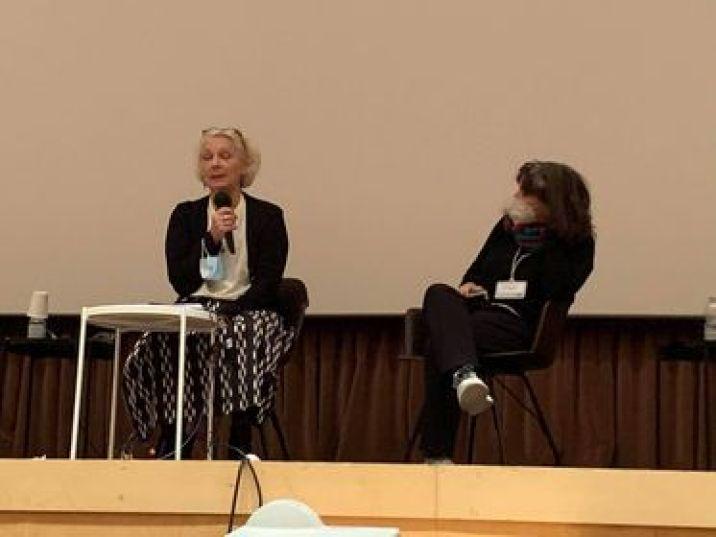 Arch.a Gisella Bassanini, rappresentante del Gruppo Vanda. A Milano ha avviato al politecnico negli anni 90 una serie di studi e tesi di laurea sulle donne architettrici pioniere del moderno