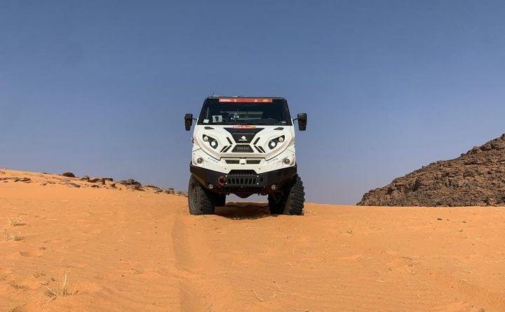 Il Graelion di Beppe Simonato e di Claudio Berro alla Dakar 2021