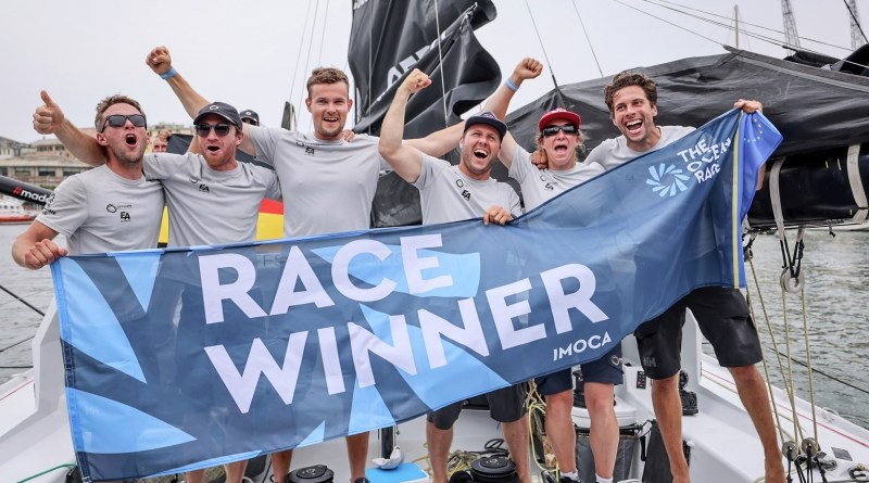 Finale thriller a Genova: Offshore Team Germany e Mirpuri Foundation Racing Team vincono The Ocean Race Europe