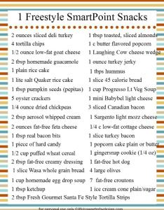 freestyle smartpoint snack ideas for weight watchers also life is rh lifeissweeterbydesign