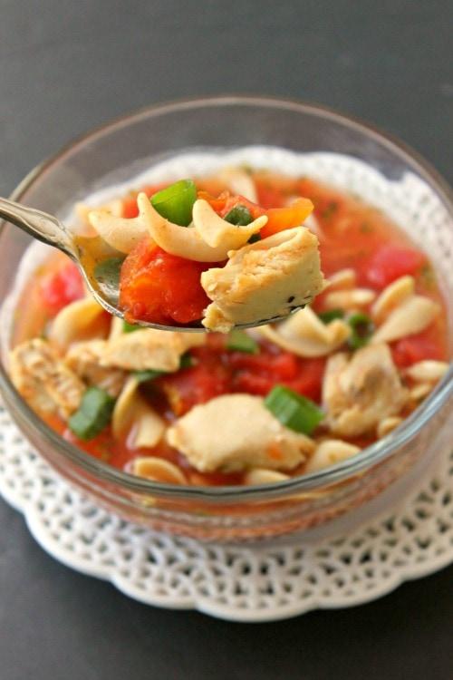 Weight Watchers Italian Chicken Noodle Soup