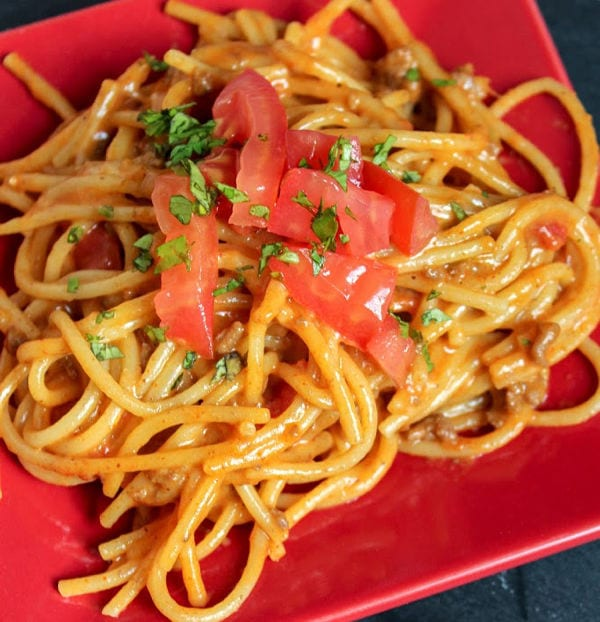 taco spaghetti recipe the whole family will love