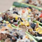 Weight Watchers Taco Zucchini Boats