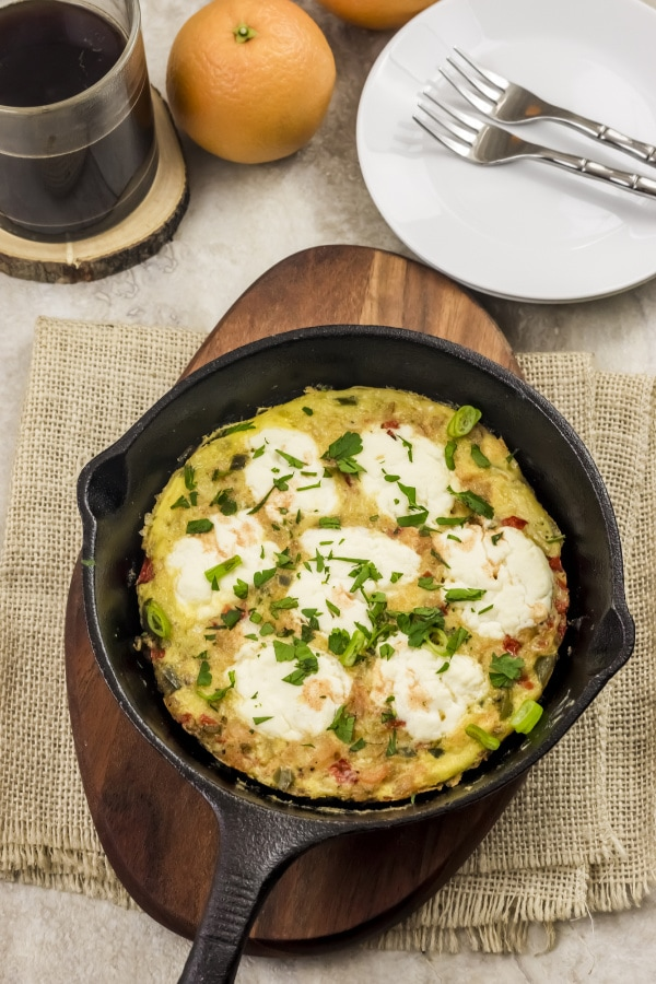 Weight Watchers Shrimp Frittata