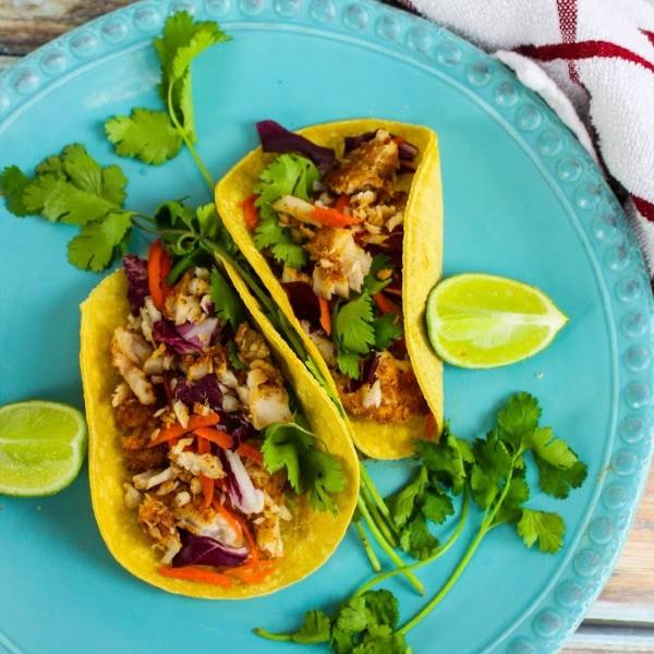 Weight Watchers Cajun Fish Soft Tacos