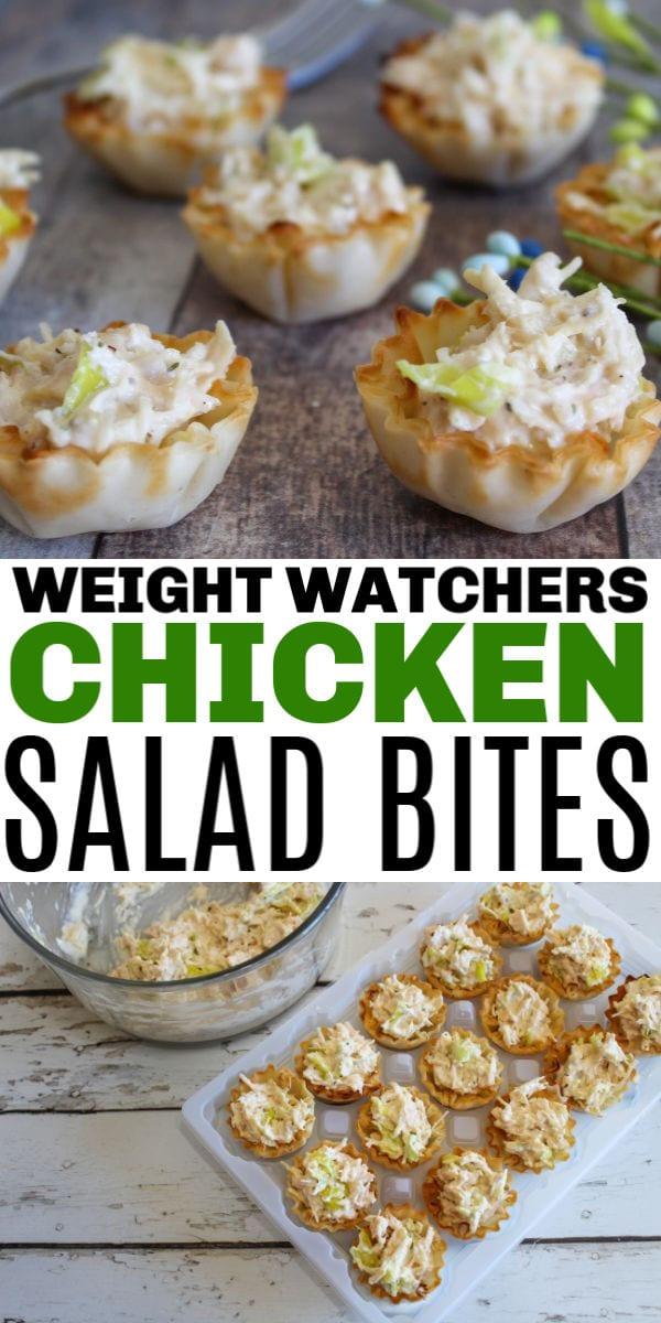 Weight Watchers Chicken Salad Bites