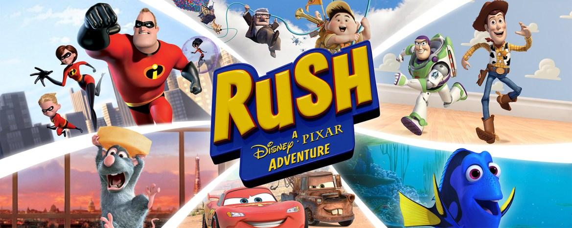 Rush: A Disney-Pixar Adventure Review