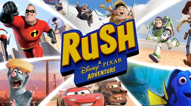 Rush: A Disney-Pixar Adventure Review