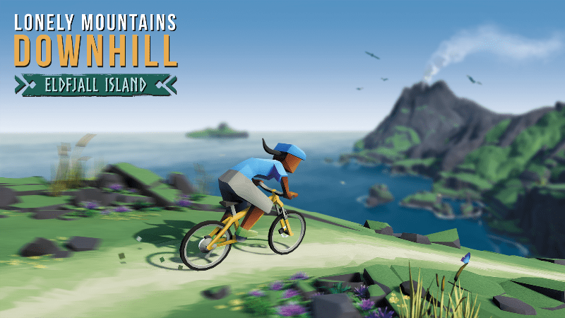 Short Review: Lonely Mountains Downhill DLC Eldfjall Island