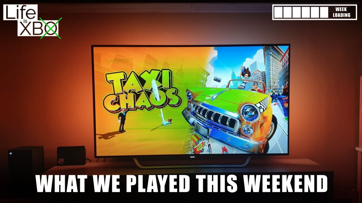 What did you and we play this weekend?