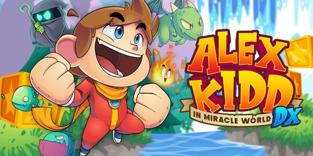 Review   Alex Kidd in Miracle World DX