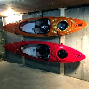 How To Store A Kayak 7 Smart Storage Ideas Garage Outdoor Etc
