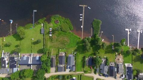 Drone over Sunds sø