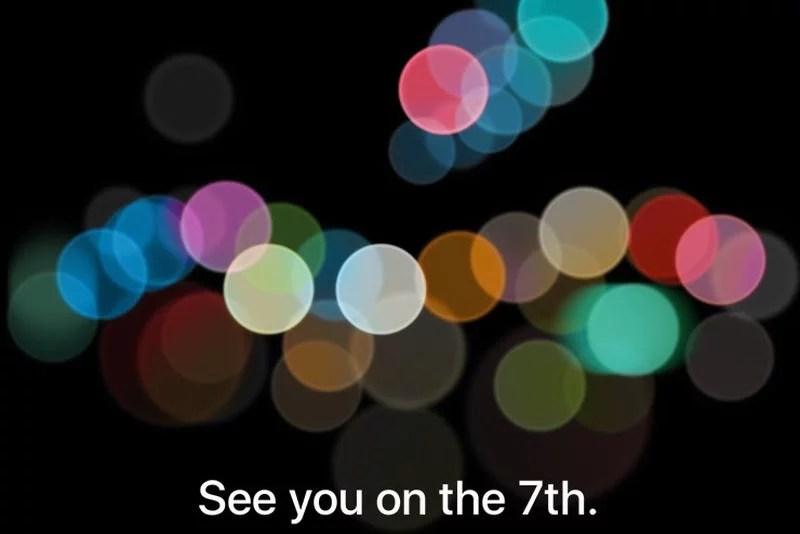 Apple september 2016 invite