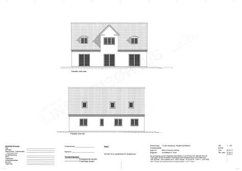 Nyt hus med Lind og Risør