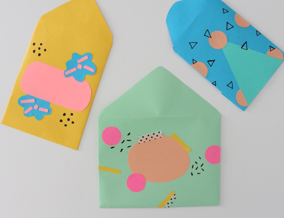 DIY Pen Pal Envelopes