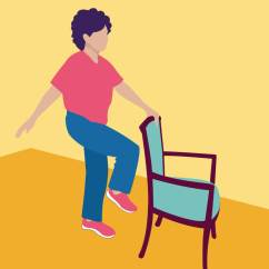 Sitting Down Chair Exercises Posture Back Pain 14 For Seniors To Improve Strength And Balance Philips It S Best Start Off With A Simple Exercise Here How You Do This One Stand Behind Steady Solid Not Wheels