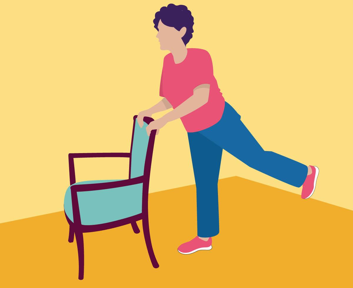 hight resolution of exercise 5 back leg raises
