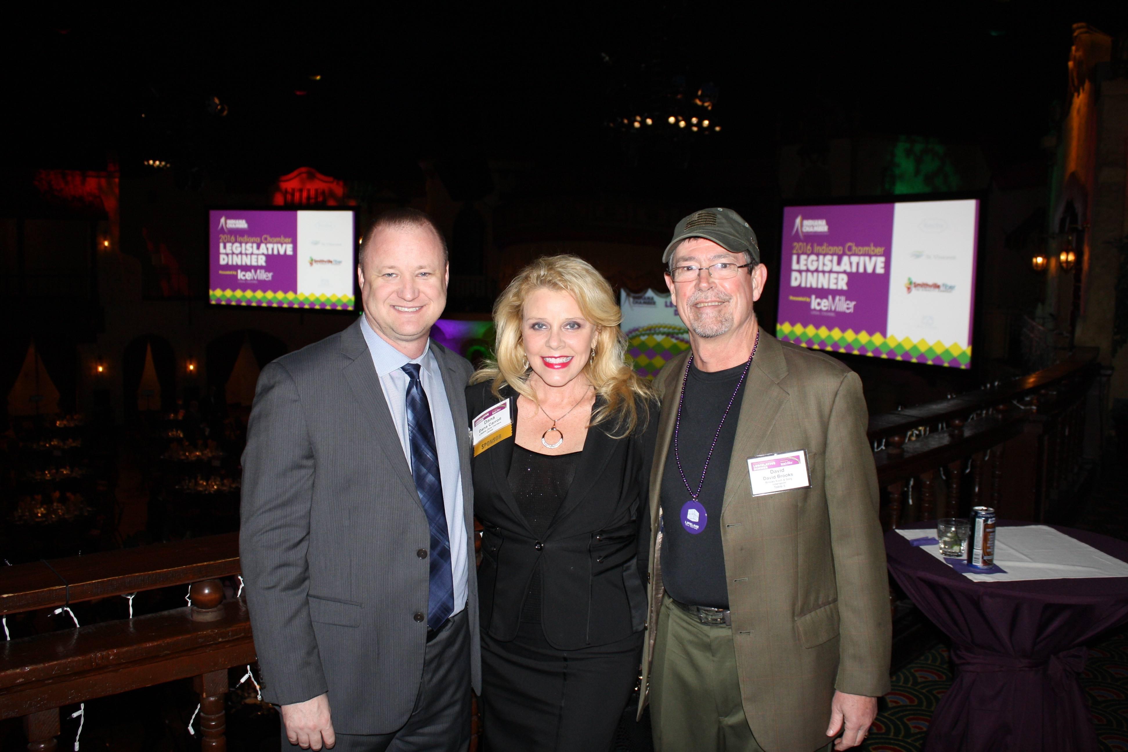 Dan Bobilya, Dana Carroll, and David Brookes