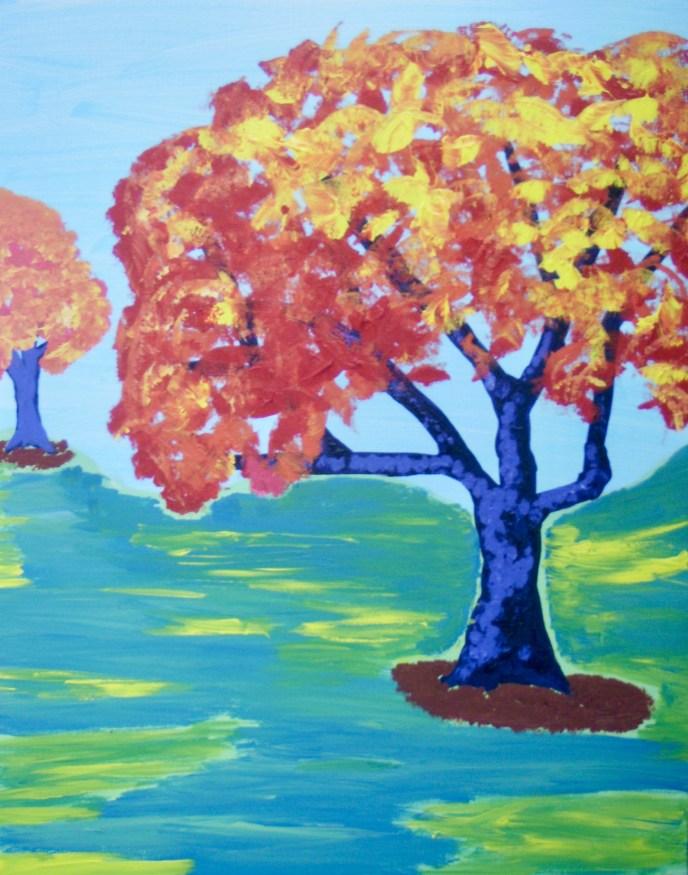 """""""Autumn"""" (acrylic), NFS"""