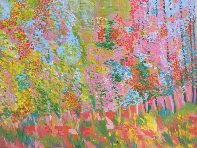 Untitled II (acrylic on canvas, 16x20) - Price Negotiable
