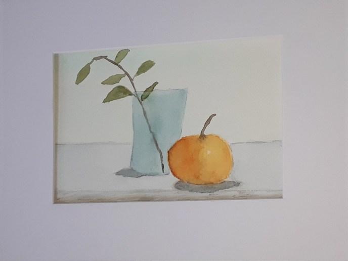 Still Life (watercolor, 7x9) - NFS
