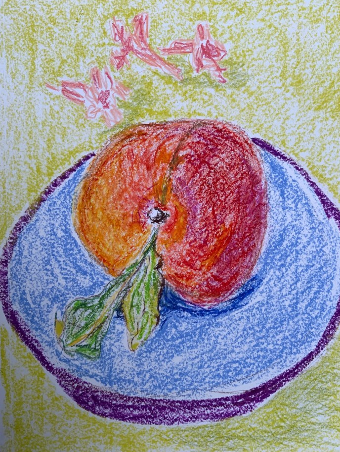 """Summer Peach"" (pastel) - NFS"