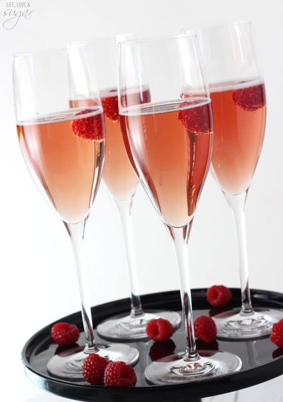 Black Raspberry Champagne Bellini Life Love And Sugar