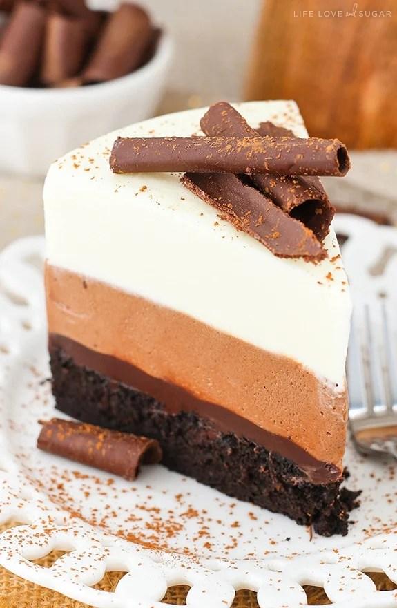 Hersheys Chocolate Mousse Cake