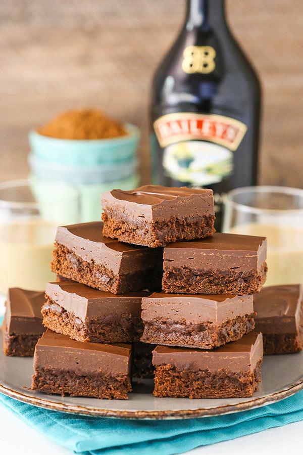 Baileys Fudge Brownies Life Love And Sugar