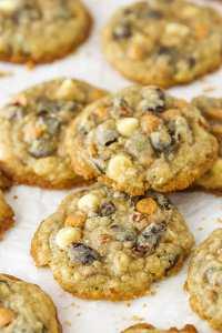 Kitchen Sink Cookies Recipe | Oatmeal, Butterscotch ...