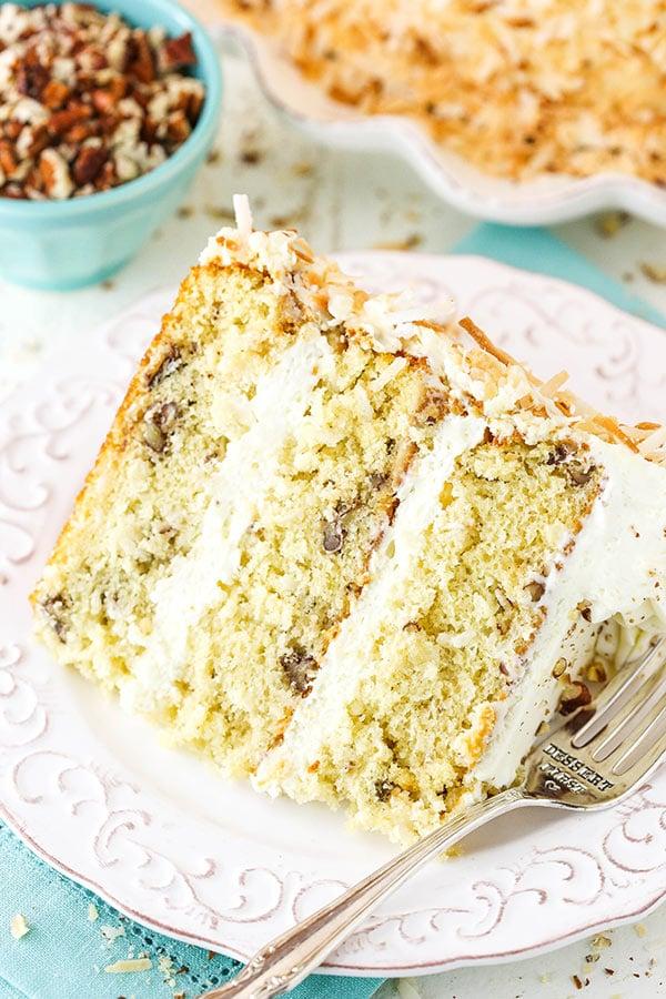 Italian Cream Cake Coconut Cake Recipe With Cream Cheese