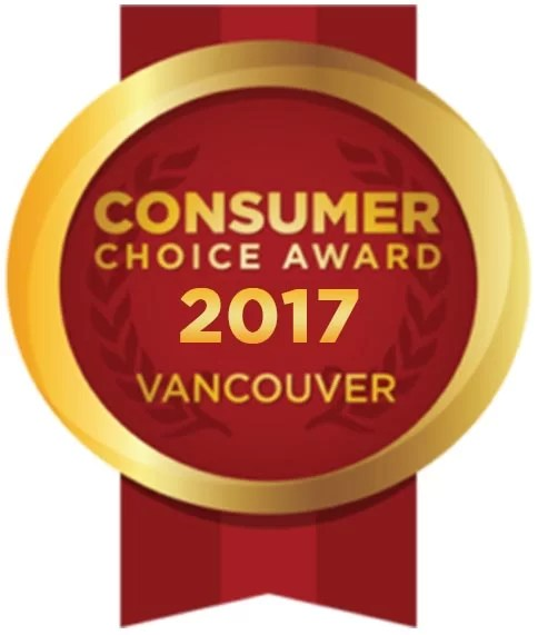 consumer choice award for Vancouver Best House Cleaning Services 2017