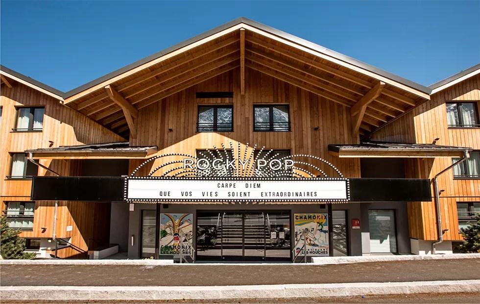 Le RockyPop à Chamonix