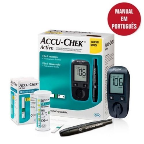Accu-Check Active Kit - Life Medicamentos - Accu Chek Active 1