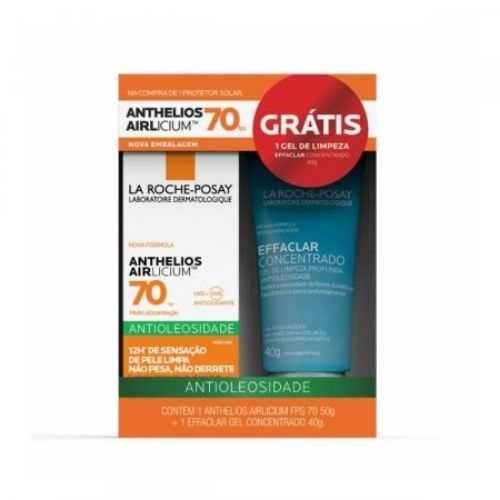ANTHELIOS AIR FP70 50G+EFF 40G - Life Medicamentos - Anthelios Xl protect Face F60 40g 1