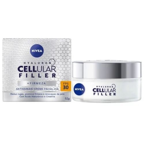 Nivea Cellular Antissinais Dia Creme Facial FPS30 50mL - Life Medicamentos - Creme Facial Nivea Cellular Dia