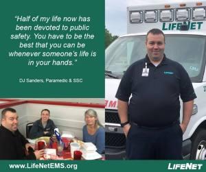 DJ Sanders, Paramedic, Hot Springs, AR, LifeNet EMS Jobs