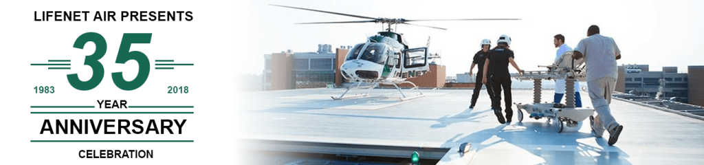 LifeNet Air Medical Transport 35th Anniversary Medical Helicopter Arkansas Texas