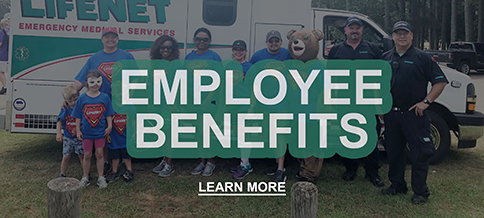 Employee Benefits for LifeNet Paramedics, EMT, Dispatcher, Jobs