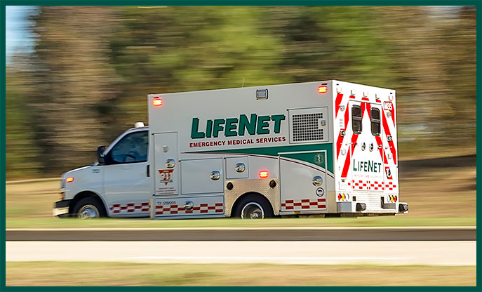 Medically Necessary Ambulance Transportation LifeNet EMS Texarkana, Hot Springs, Stillwater