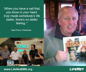 Neal Prince, Paramedic Jobs Hot Springs, AR, LifeNet EMS